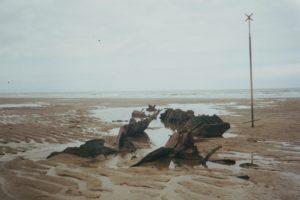 L'épave en 2000. (photo Richard Mikolajczak)