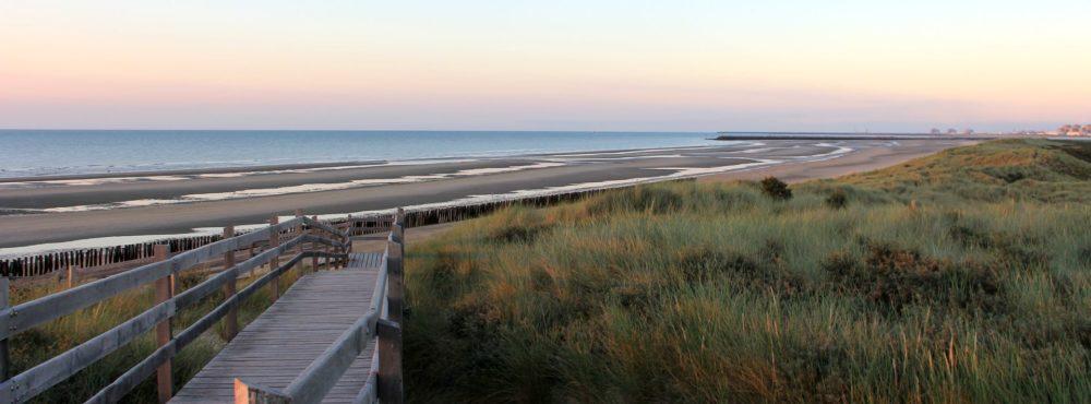 La plage des écardines.