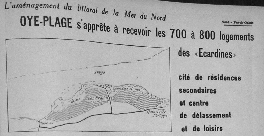 Extrait du magazine Nord Industriel, n° 38 du 16 septembre 1966.
